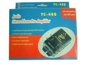 TCC stereo phone pre-amplifier TC-400