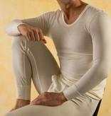 Hocosa Tussahzijden hemd lange mouw