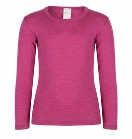 Hocosa Kinderhemd met lange mouw wol/zijde