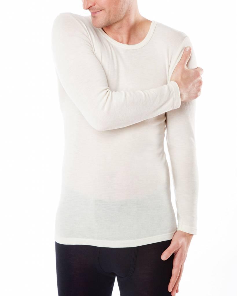 Living Crafts Hemd wol/zijde lange mouw