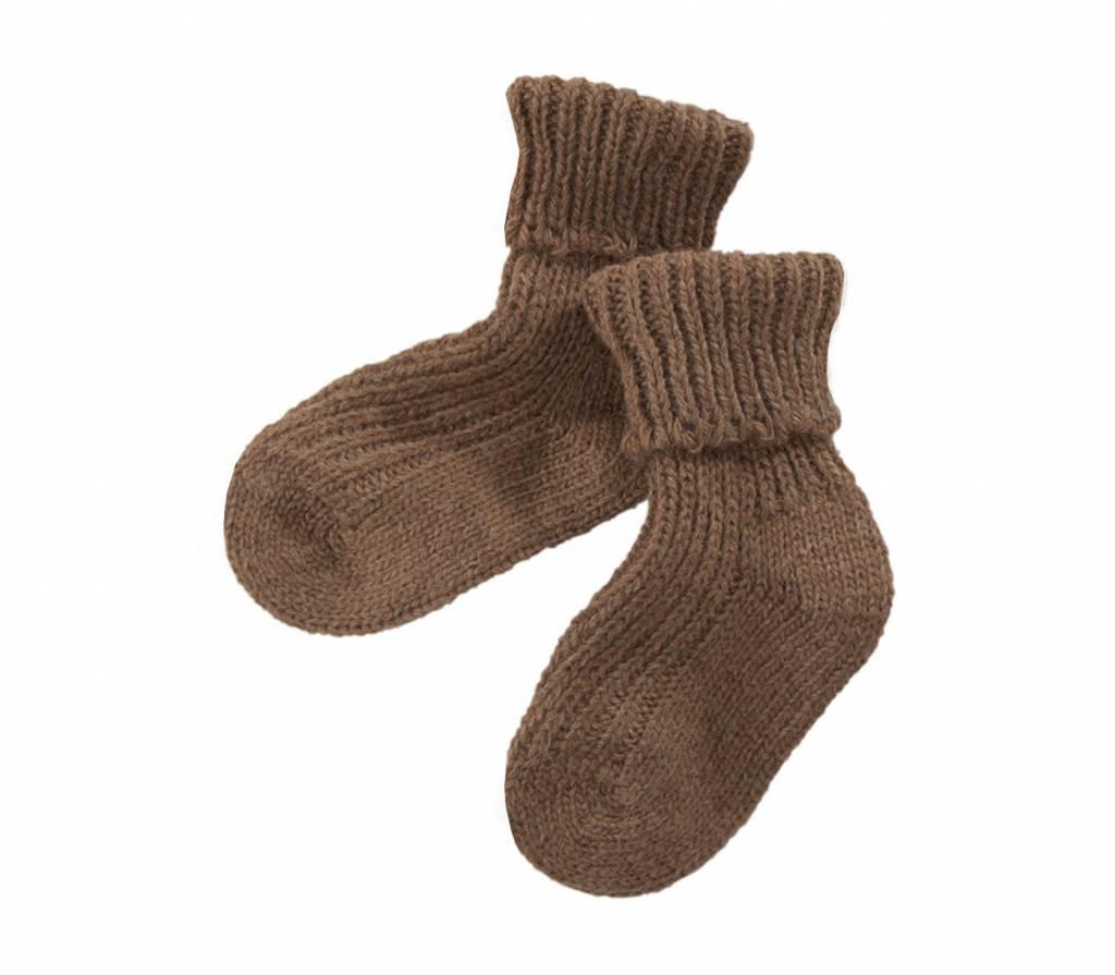 Hirsch Natur Kameelhaar sokken baby