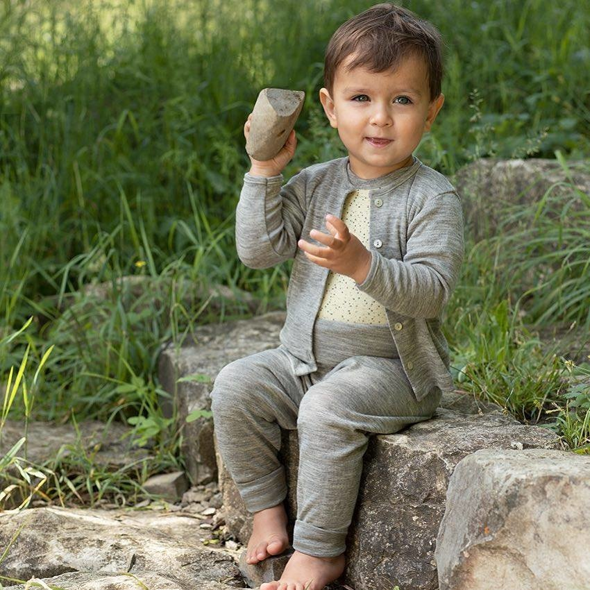 Engel Baby vestje wol/zijde