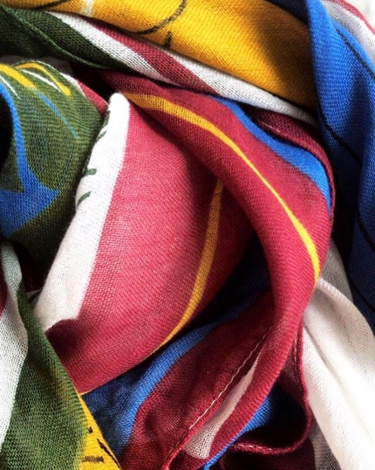 Bandana / headscarf modal