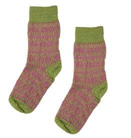 Hirsch Natur Wollen sokken met sterren kinderen