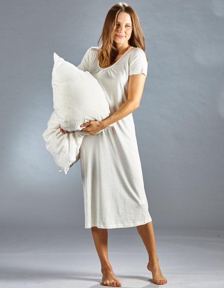 Kokon zwo Nachthemd zijde/ bio katoen korte mouw