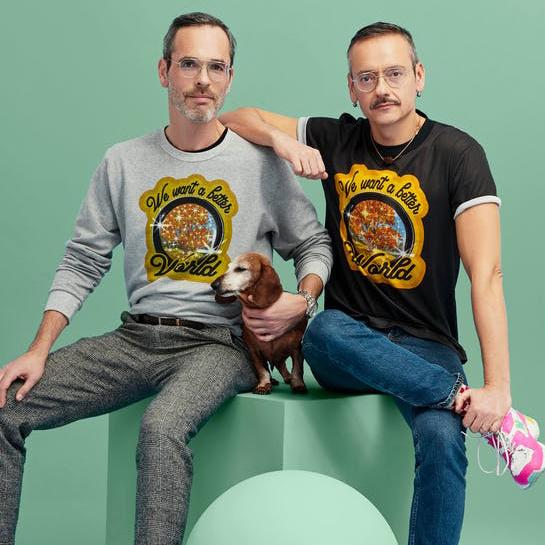 Calida Slaapshort Viktor&Rolf 100% compostable