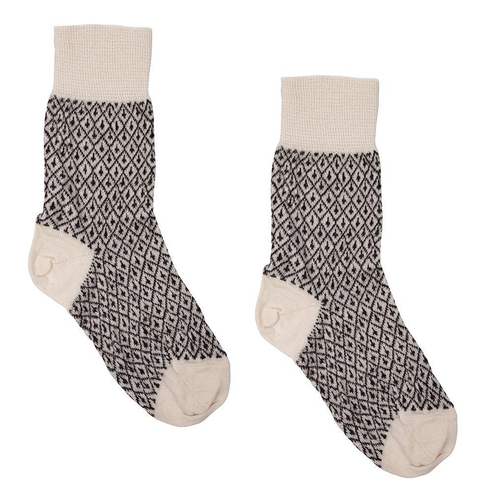Hirsch Natur Wollen sokken dunner
