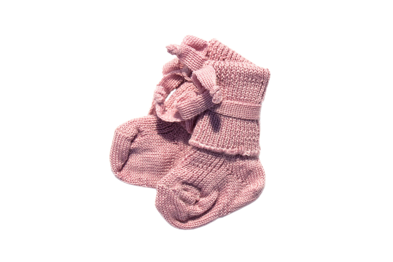 Hirsch Natur Wollen sokjes newborn