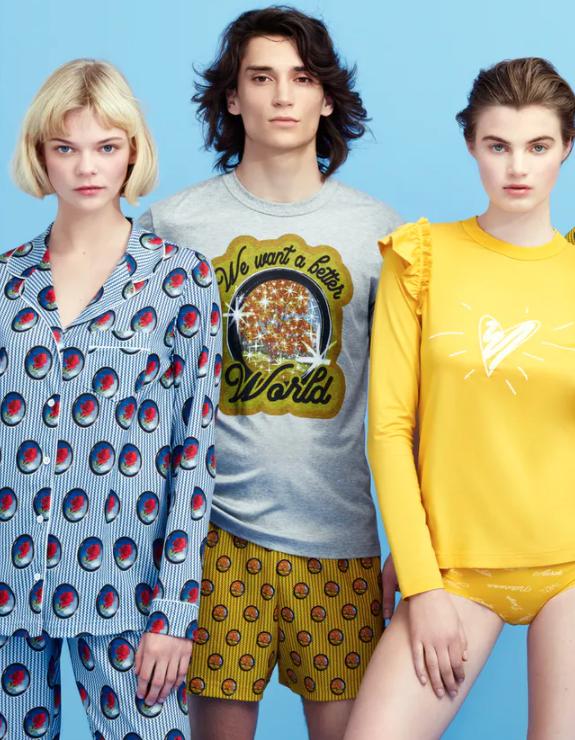 Calida Shirt Viktor&Rolf 100% compostable