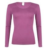Hocosa Wol/zijden hemd met lange mouw