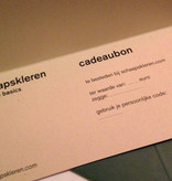 Cadeaubon t.w.v. 50,00 euro