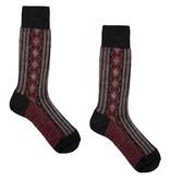 Hirsch Natur Folklore sokken wol bruin