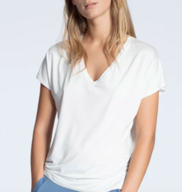 Calida Tencel t-shirt met v-hals