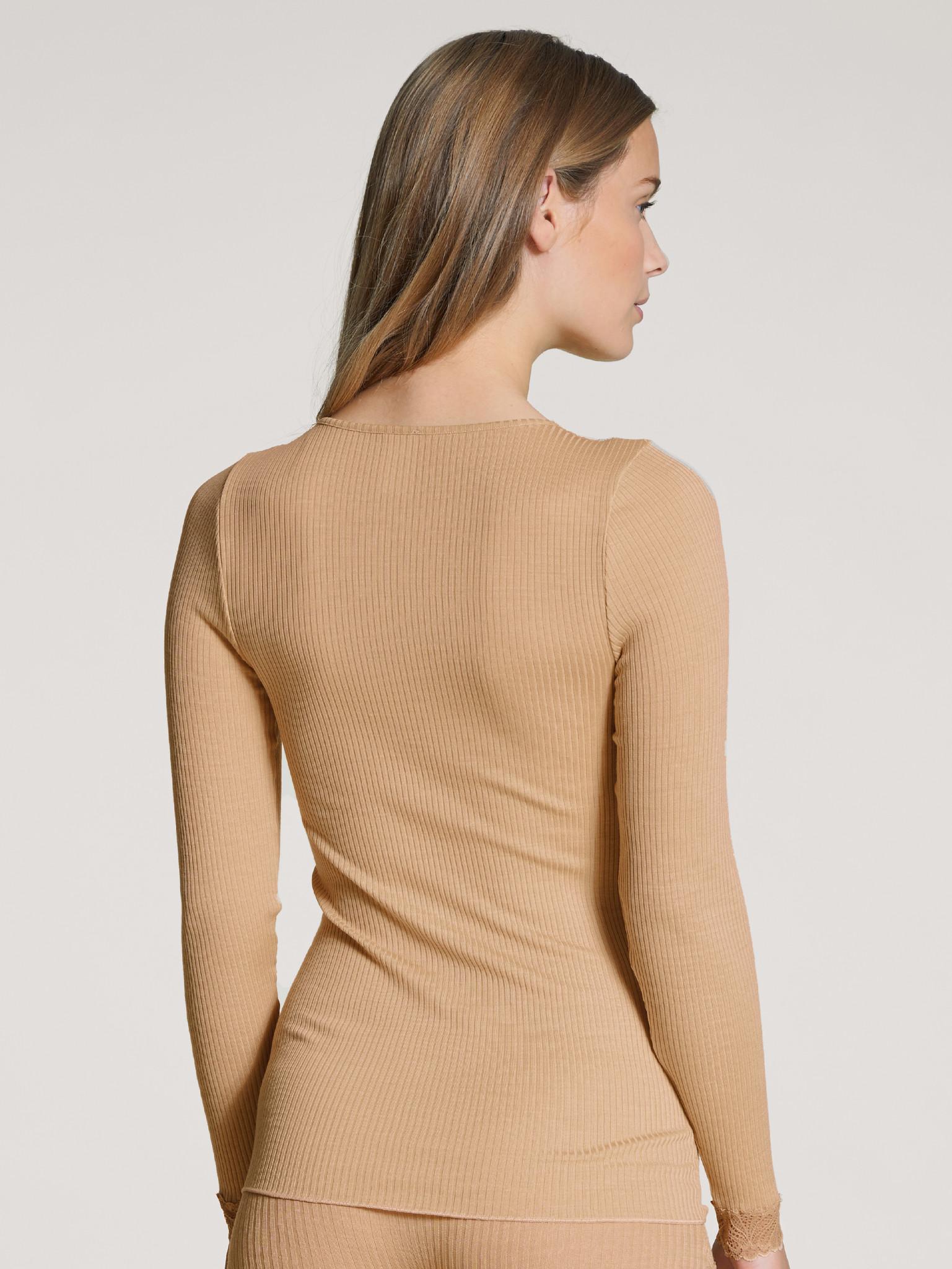 Calida Hemd wol/zijde lange mouw