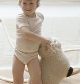 Living Crafts Wol/zijden kinderhemd korte mouw