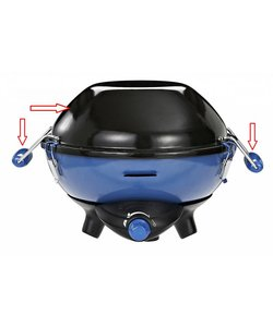 deksel + handvatten party grill 400