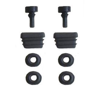 Set met rubberen ringen/plugs