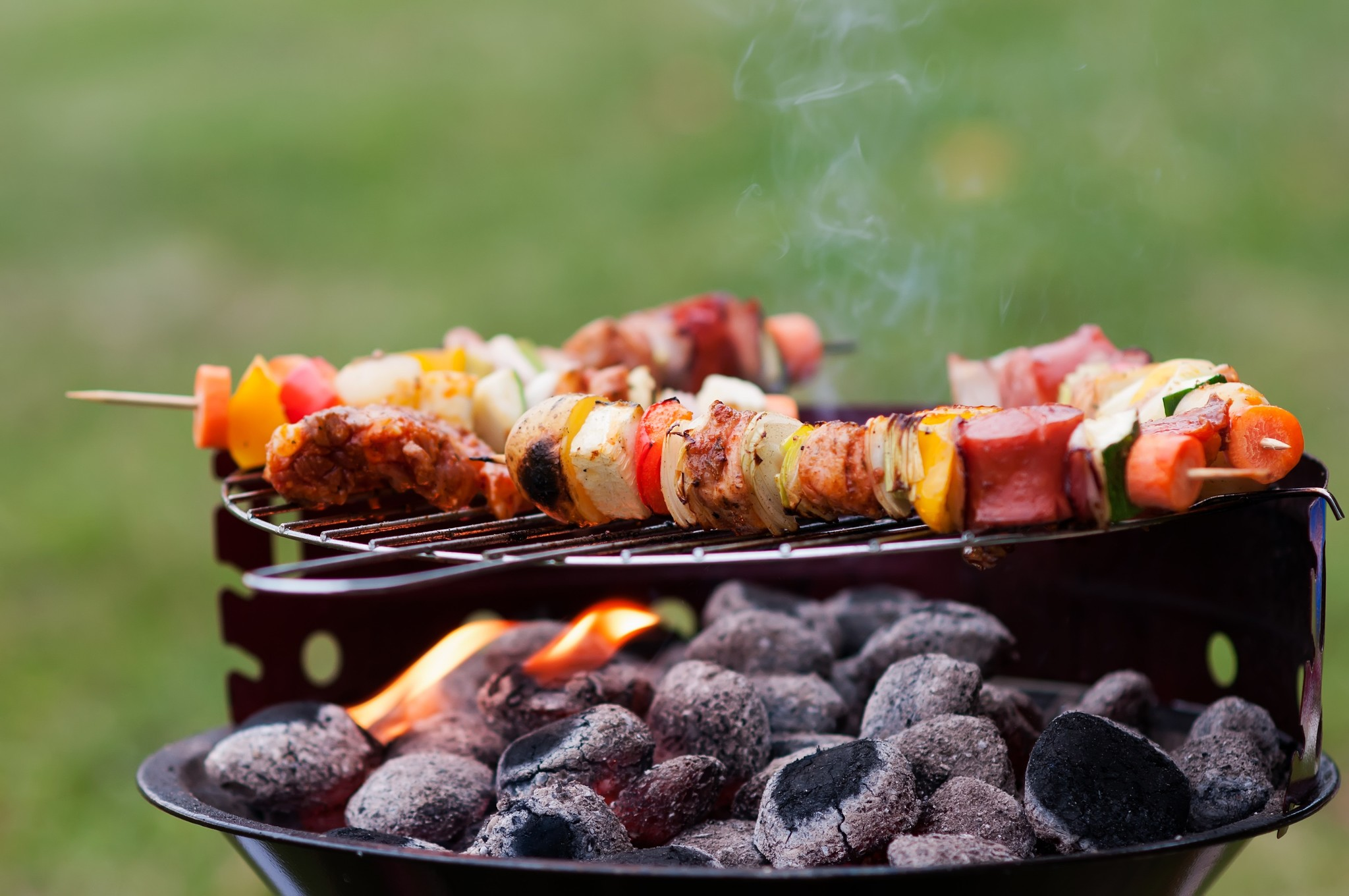 Barbecue wielen: must have of nice to have?