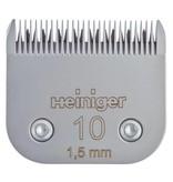 Heiniger Messenset #10 1,5 mm voor kat, hond en koe