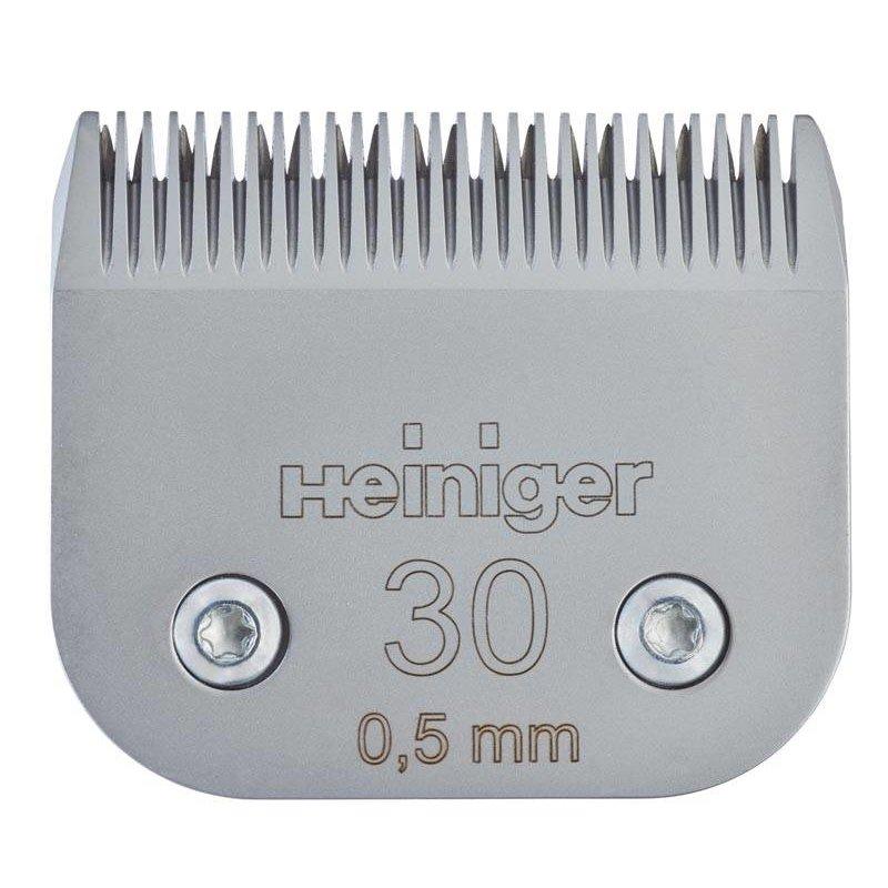 Heiniger Messenset #30 0,5 mm voor kat en hond