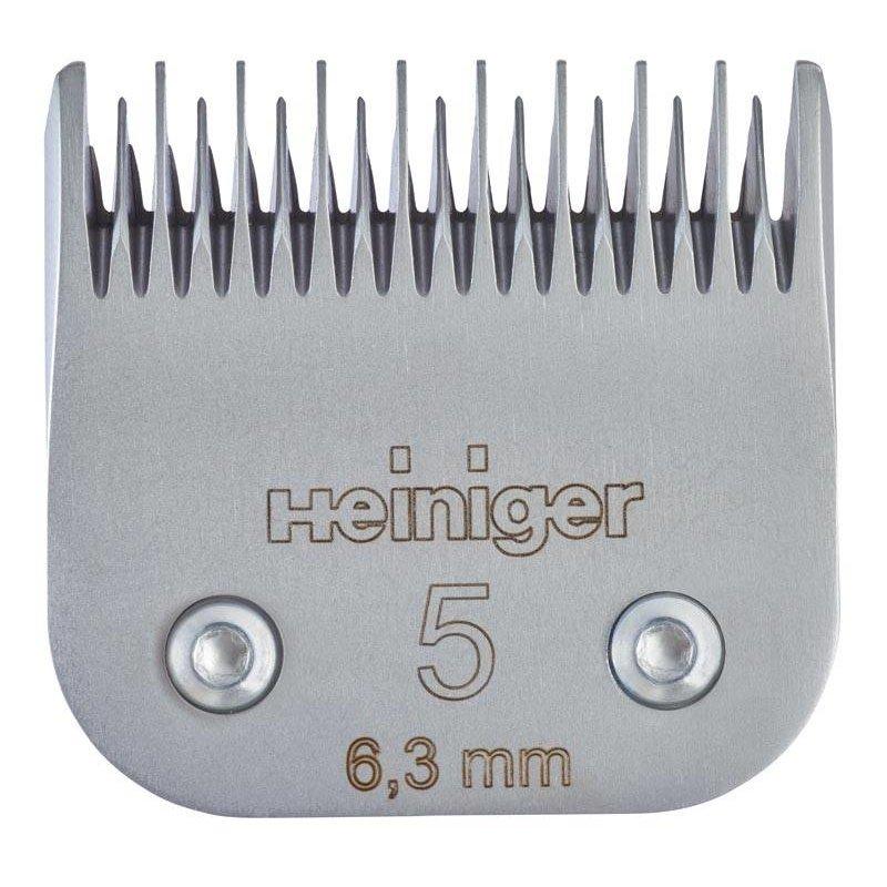 Heiniger Messenset #5 6,3 mm voor hond