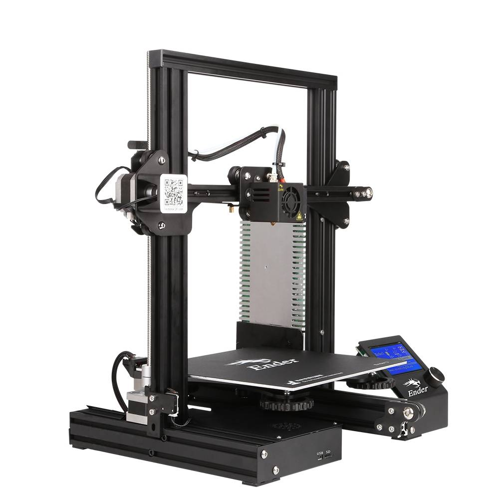 Creality Ender-3 - cheap but well equipped 3D printer - FilRight