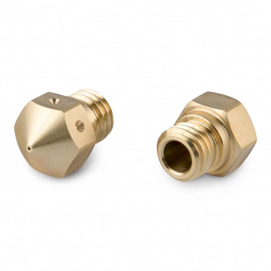 MK10 Brass Nozzle 0,4 mm - 2 stuks
