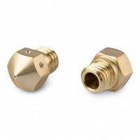 MK10 Brass Nozzle 0,6 mm - 2 stuks