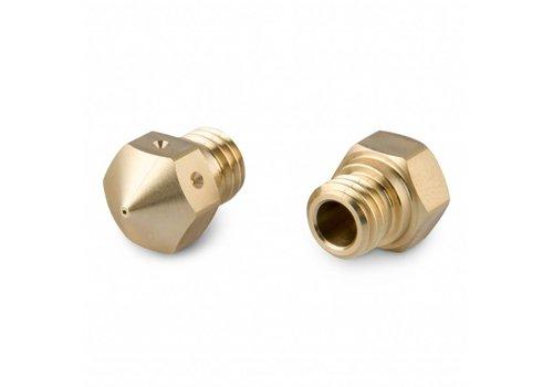 FilRight MK10 Brass Nozzle 0,6 mm - 2 stuks