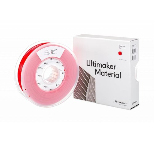 Ultimaker ULTIMAKER TOUGH PLA RED (NFC) (#202302)