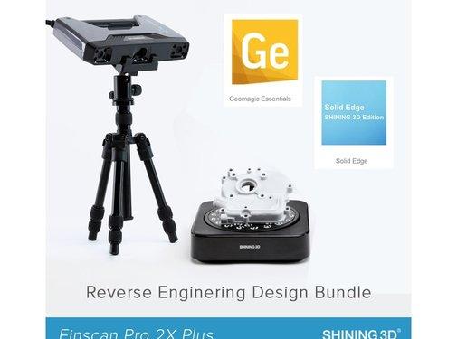 Shining 3D Einscan Pro 2X Plus Reverse Engineering Design bundel