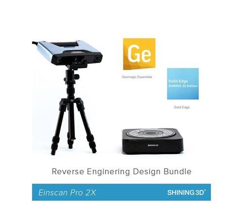 Shining 3D Einscan Pro 2X Reverse Engineering Design bundel