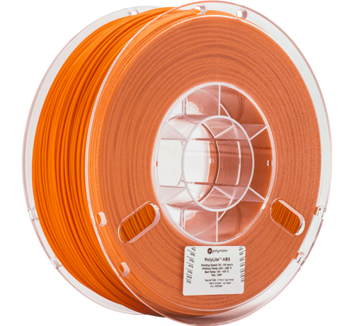 Polymaker Polymaker Polylite ABS Oranje 1KG