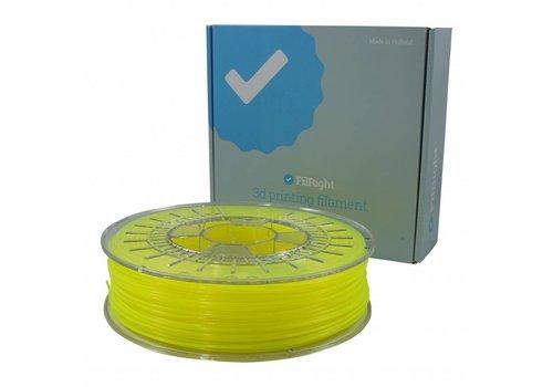 FilRight FilRight Pro PLA+ - 750 g - Geel Fluor