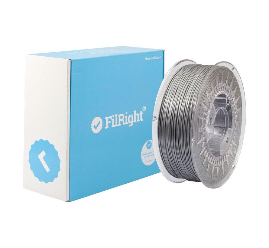 FilRight Maker PLA - 1 kg - Grijs Metaal