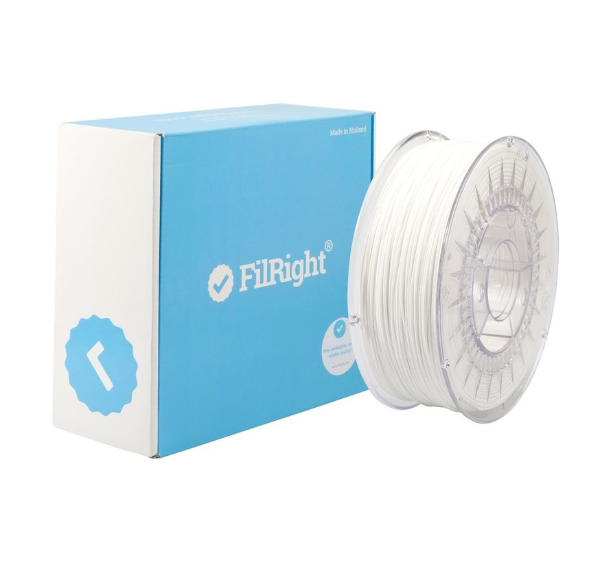 FilRight Maker PLA - 1 kg - Wit