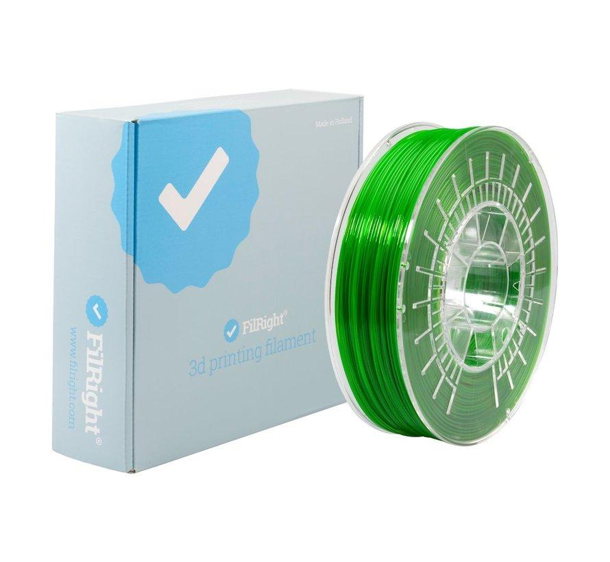 FilRight Pro PETG - 750 g - Green transparent