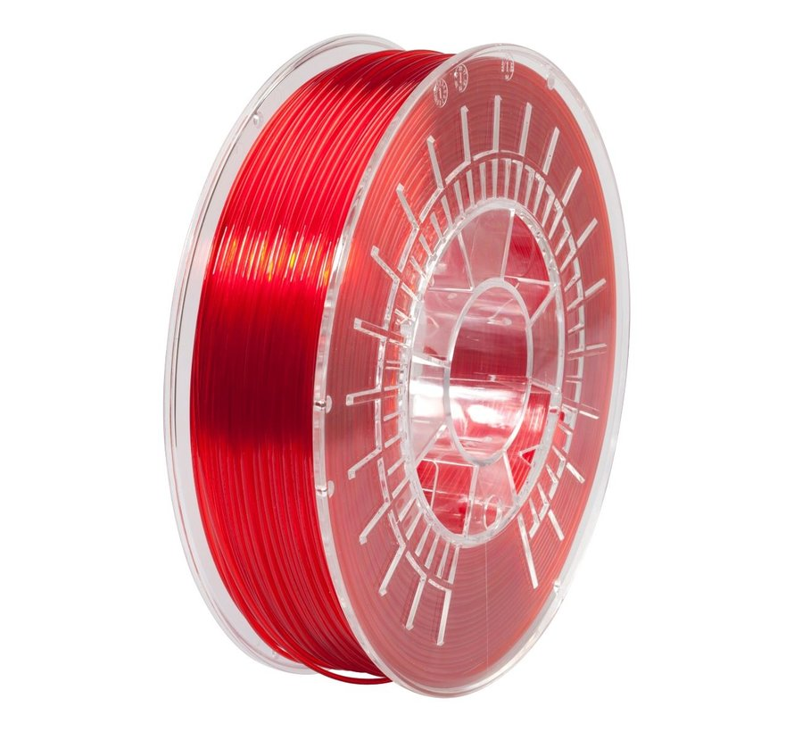 FilRight Pro PETG - 750 g - Red transparant