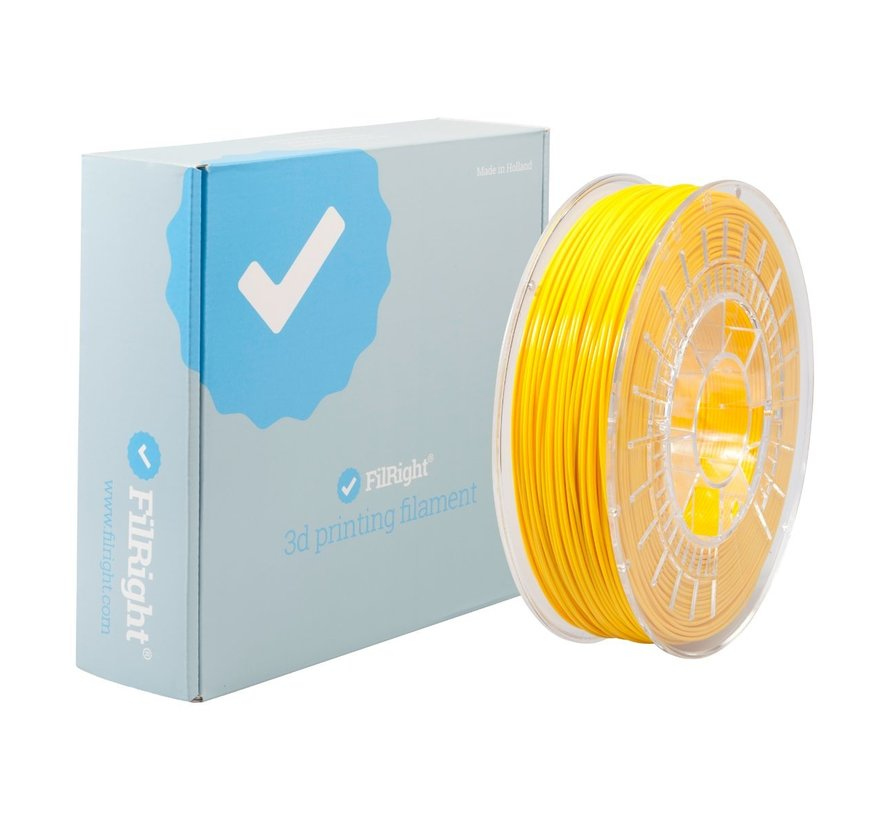 FilRight Pro PLA+ - 750 g - Yellow
