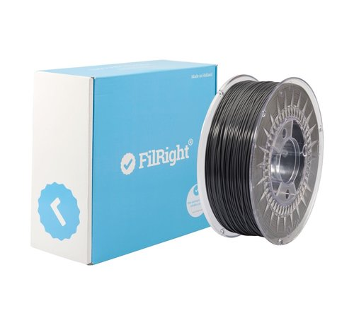 FilRight FilRight Maker PLA - 1 kg - Dark Grey