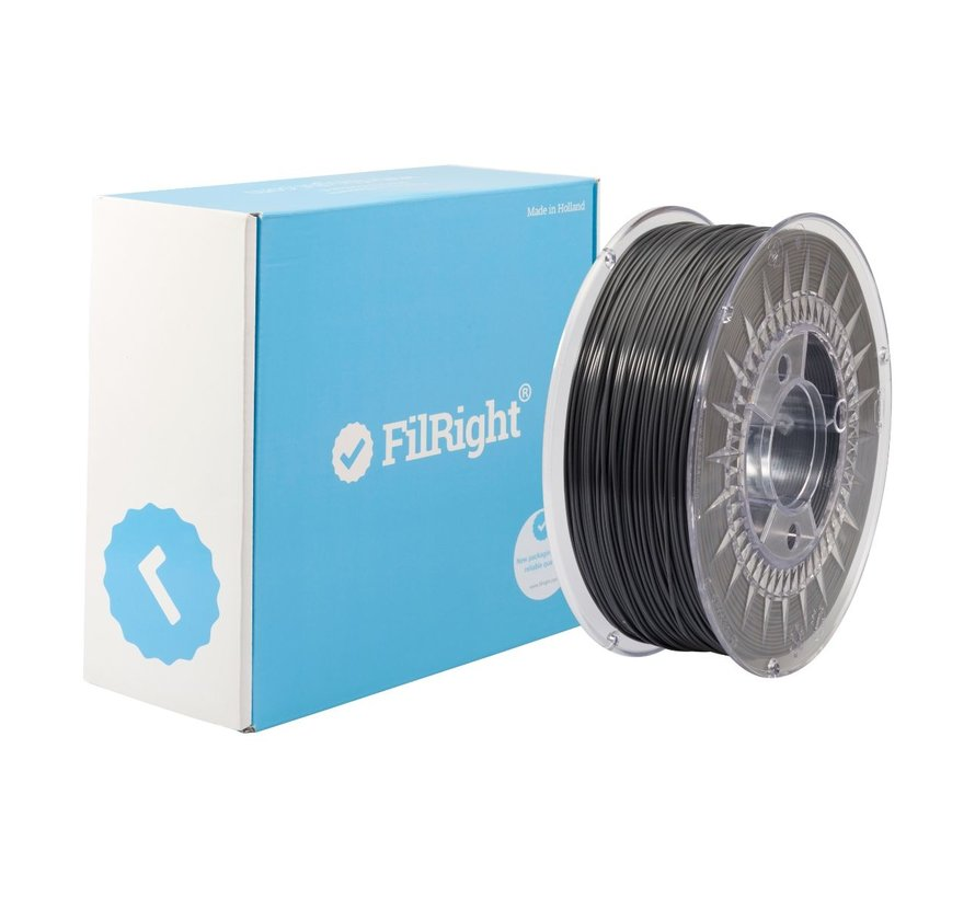 FilRight Maker PLA - 1 kg - Donker Grijs