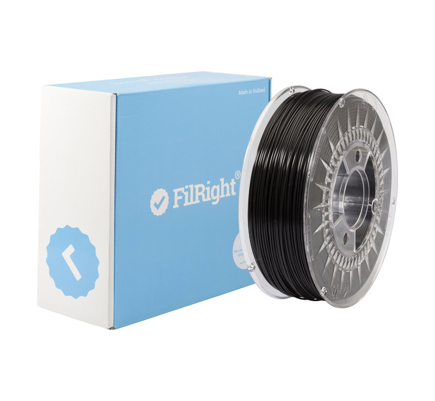 FilRight Maker PLA - 1 kg - Zwart