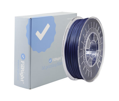 FilRight FilRight Pro PLA+ - 750 g - Metallic Donker Blauw