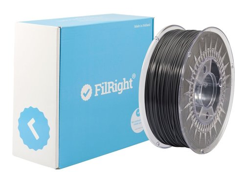 FilRight FilRight Maker PLA - 1.75mm - Production Pack Zwart