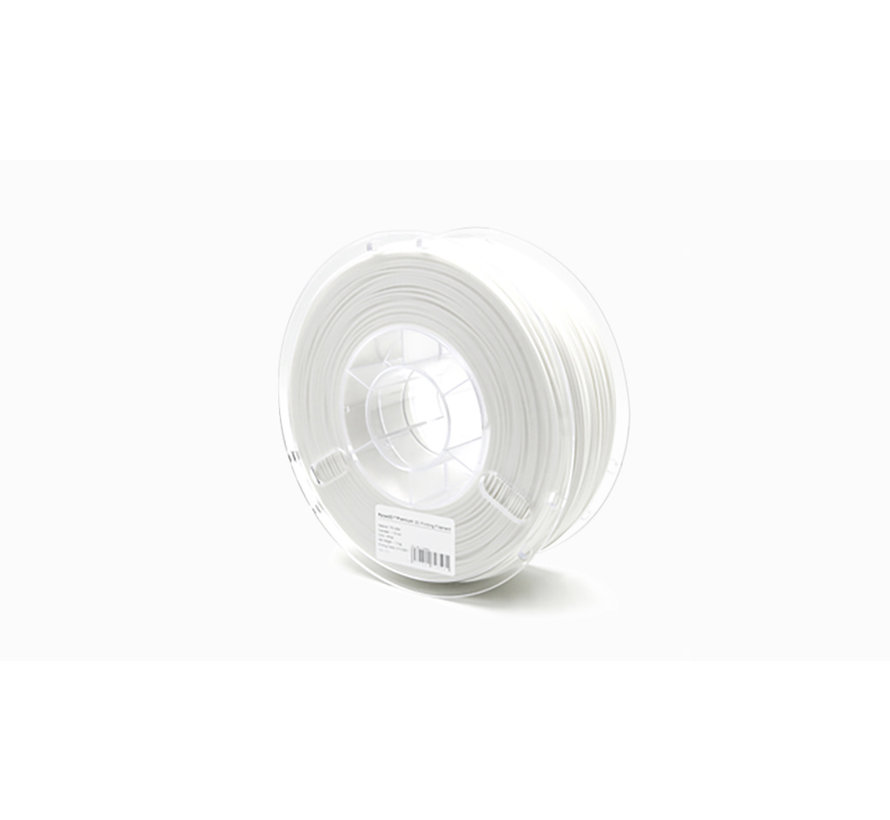 Raise3D Premium TPU-95A Filament - White - 1.75mm -1kg