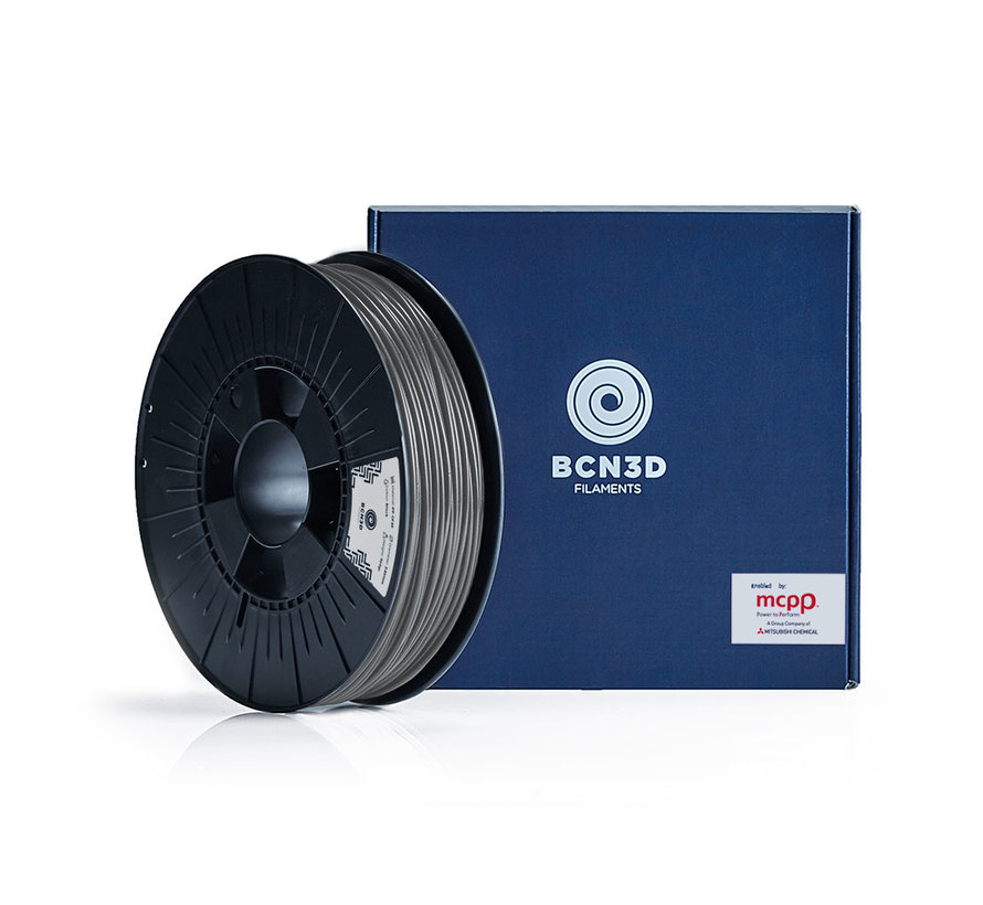 BCN3D  Filament PLA - 2.85 mm - 750 g - Zilver