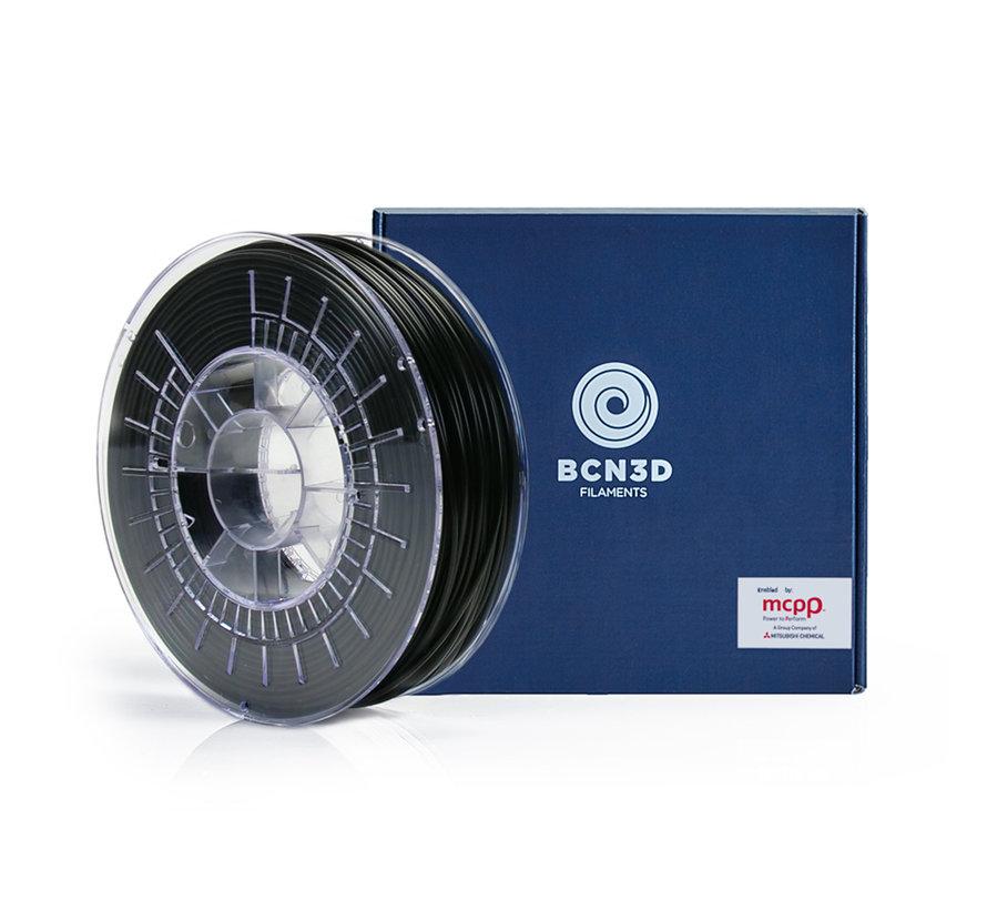 BCN3D  Filament Tough PLA - 2.85 mm - 750 g - Zwart
