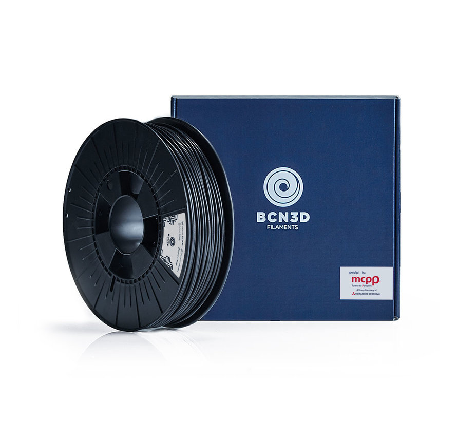 BCN3D  Filament PETG - 2.85 mm - 750 g - Zwart