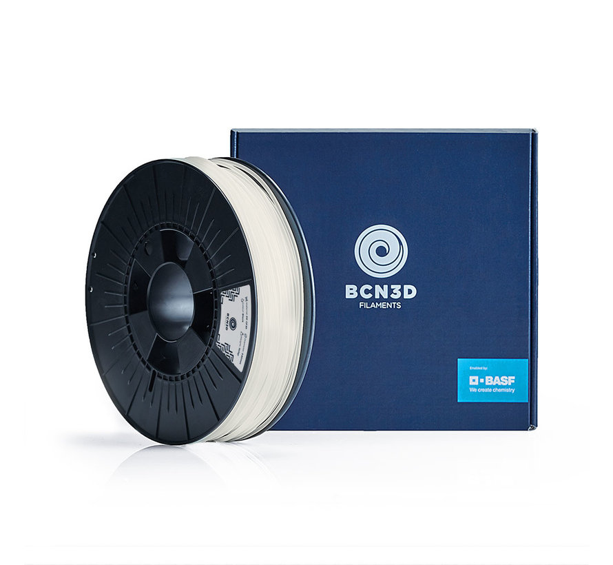 BCN3D  Filament PA - 2.85 mm - 750 g - Wit