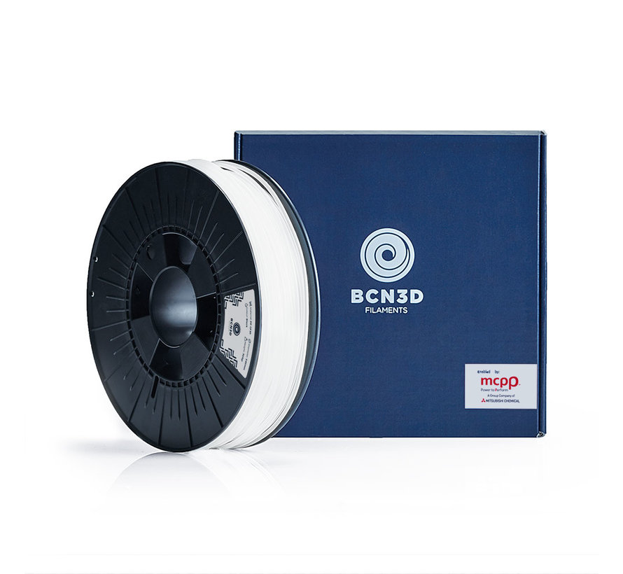 BCN3D  Filament TPU - 2.85 mm - 750 g - Wit